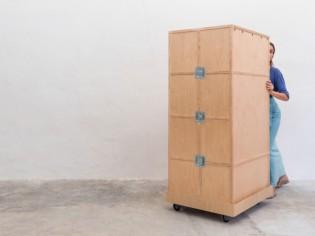 Insolite : un salon nomade qui s'inspire de la pierre