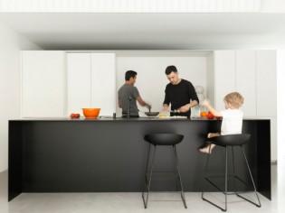 Une cuisine ultra fonctionnelle et quasi invisible
