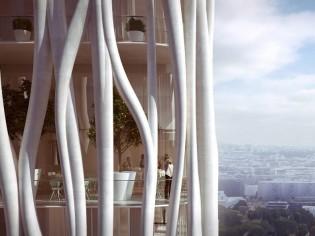 Architecture : habiter une tour tressée à Clichy-la-Garenne