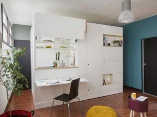 Lépine 2018 : Very Good Box, aménager un studio en un meuble