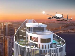 A Miami, une tour s'équipe pour accueillir... les taxis volants
