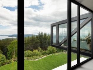 Une maison en suspension avec vue à 180°...