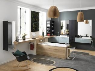 Du bois pour une salle de bains chaleureuse : 10 idées pour bien l'intégrer