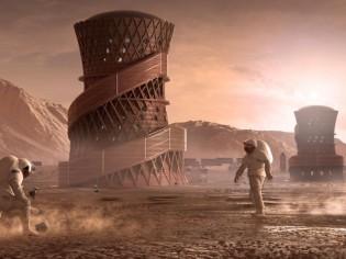 Voilà à quoi pourrait ressembler le premier habitat sur Mars