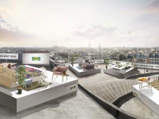 Ikea offre une nuit sur les toits de Paris