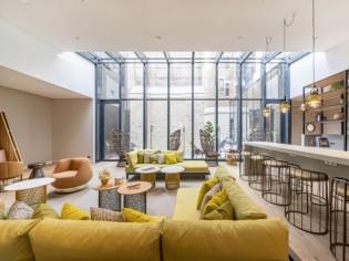 Une caserne de pompiers transformée en un sublime hôtel de luxe