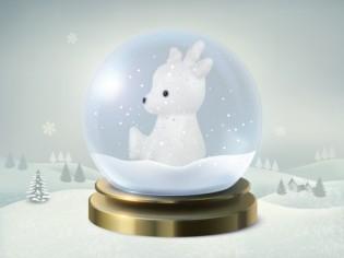 19 décembre : une adorable veilleuse led en forme de renne