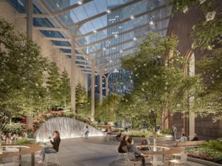 Snøhetta repense un jardin new-yorkais