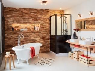 7 parois de douche originales pour réveiller la déco de sa salle de bains