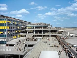 L'aéroport d'Orly, emblème moderne des sixties
