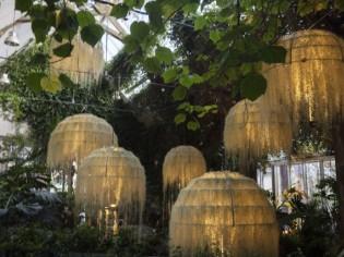 Rainforest, une installation poétique à Chaumont-sur-Loire