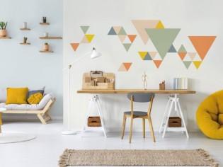De la couleur dans mon intérieur : 10 façons originales de peindre ses murs