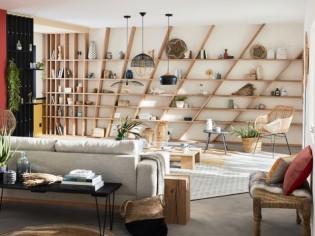 Des étagères originales pour ranger et donner du style à son intérieur