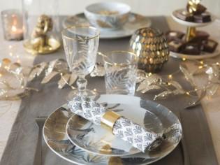20 idées de déco pour sublimer sa table de fêtes