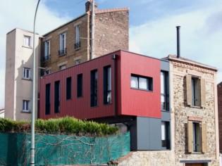 50 m2 supplémentaires grâce à une extension contemporaine
