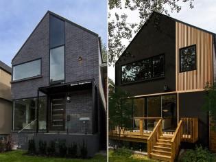 Cette maison crée la surprise avec... deux façades différentes !