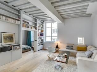 Un appartement au charme ancien subtilement modernisé