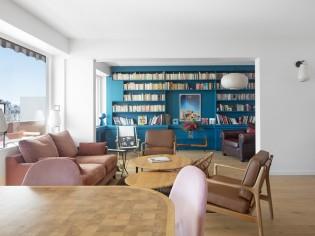 Un intérieur revisité en douceur pour cet appartement familial