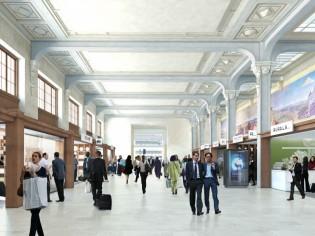 Gare de Lyon : la Galerie des fresques retrouve sa splendeur