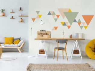 De la couleur dans mon intérieur : 15 façons originales de peindre ses murs
