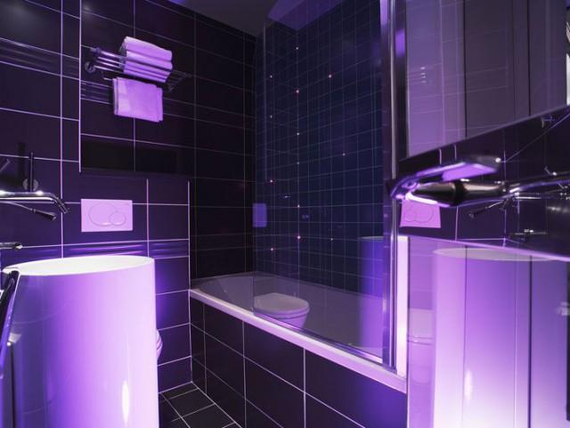 five hotel salle de bains