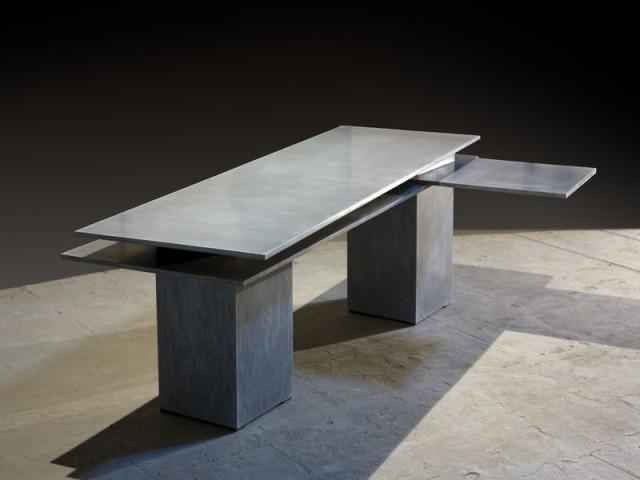 bureau deux feuilles beton passaniti