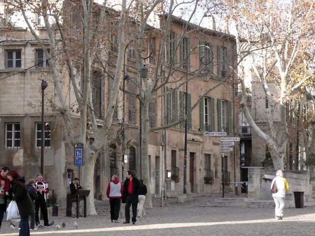 ballade déco dans Avignon rue