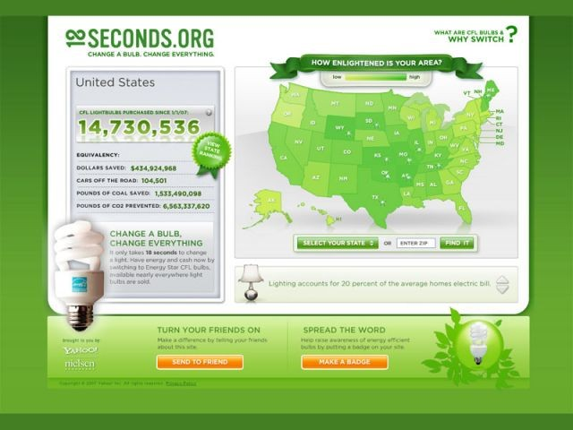 18 seconds site contre rechauffement climatique