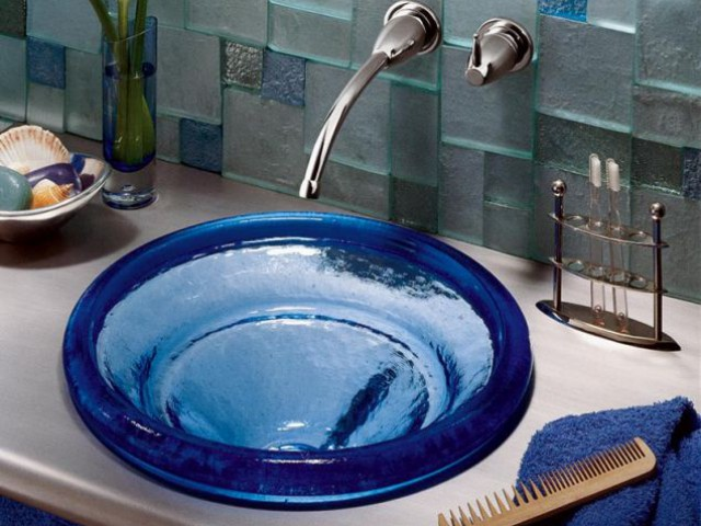 vasque verre jacob delafon