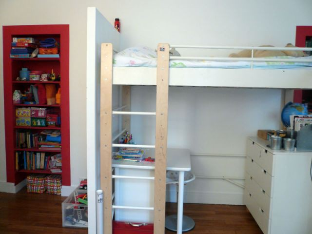 chambre enfants appart blanc fle