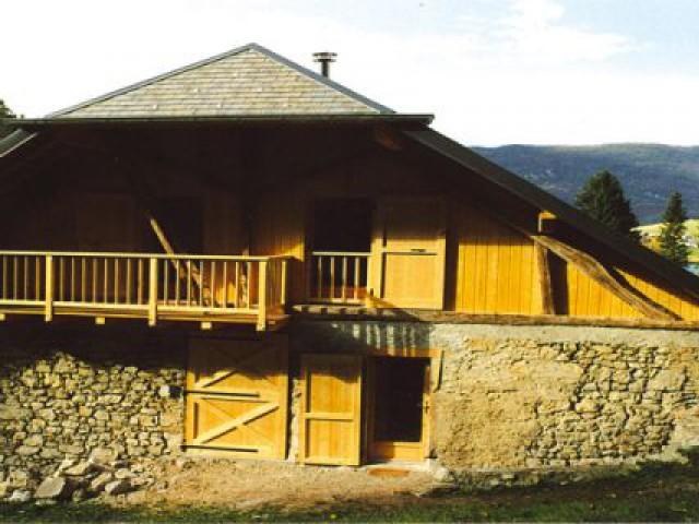 Réhabilitation d'une ancienne grange à La Thuile (