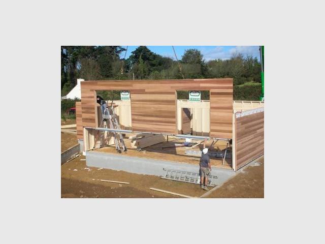 Calage - calage maison bois trecobat