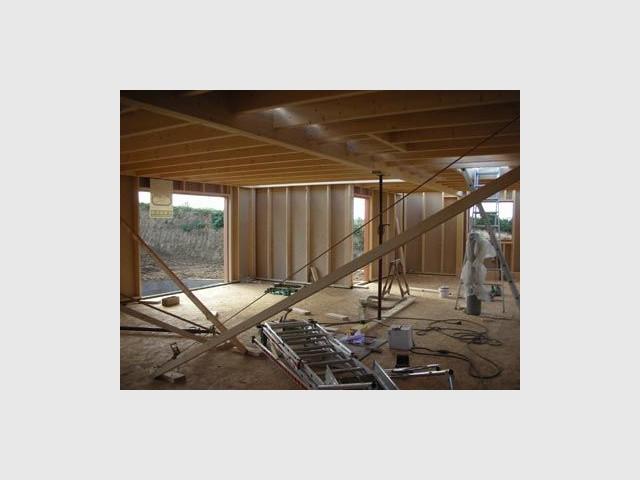 plancher maison bois trecobat