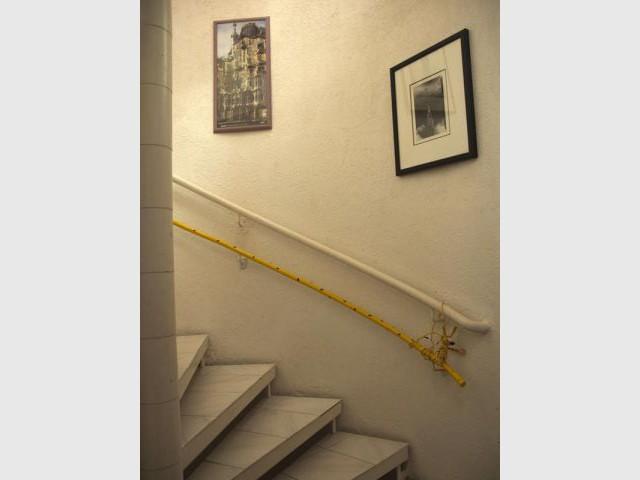 escalier marsupilami maison carole