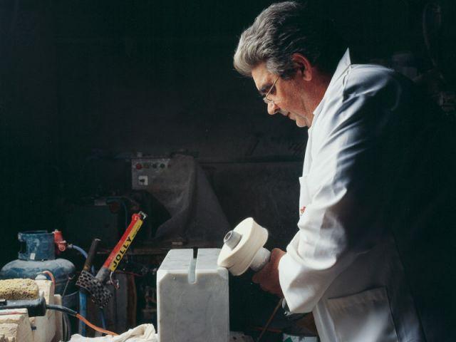 travail du marbre