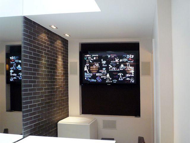salon video hotel des arts