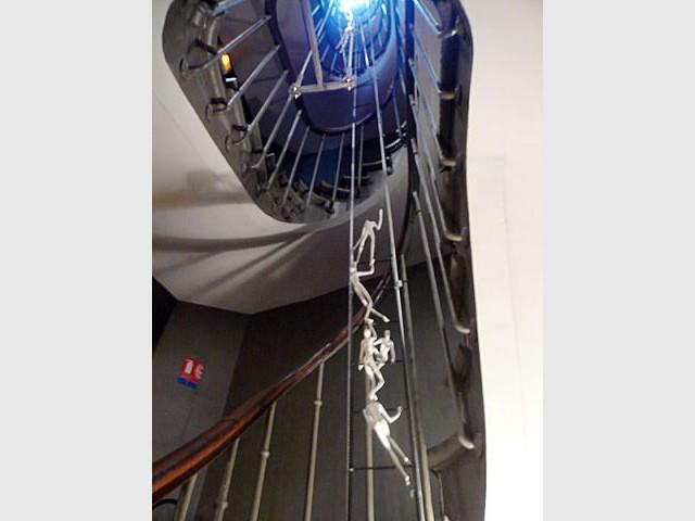 Escalier hotel des arts