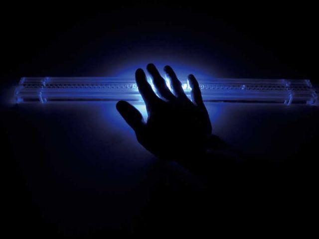 Lumière tactile
