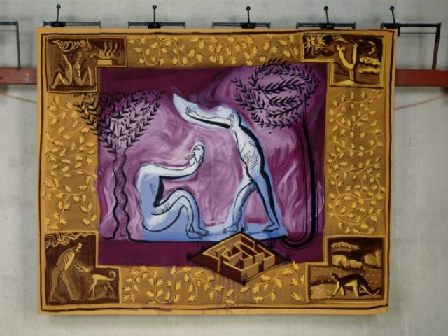 Gérard Garouste tapisserie