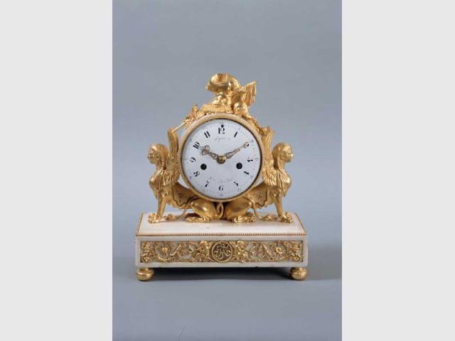 Pendule des collections du Comte d'Artois
