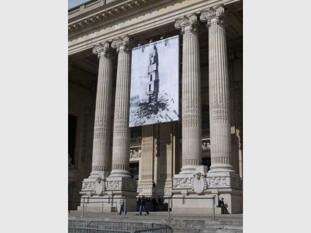 Sternenfall - Chute d'étoiles facade grand palais