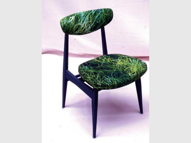 chaise herbe les bucoliques