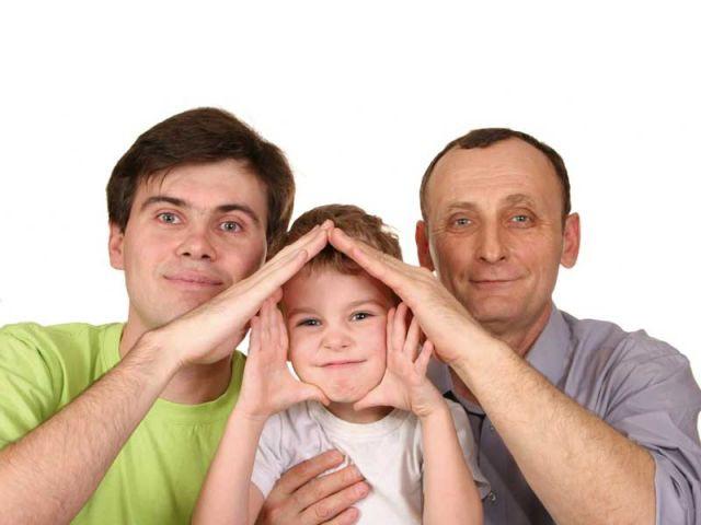 famille generation transmission maison