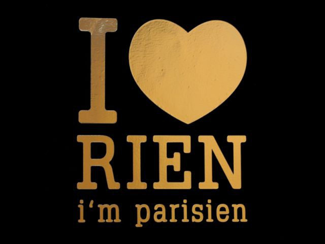 Paristic I love rien