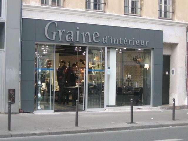 façade graine d'Intérieur Paris 11e