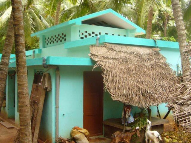 Village d'Arunthangavillai Inde