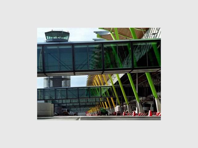 Nouveau terminal de l'aéroport Barajas (Espagne)