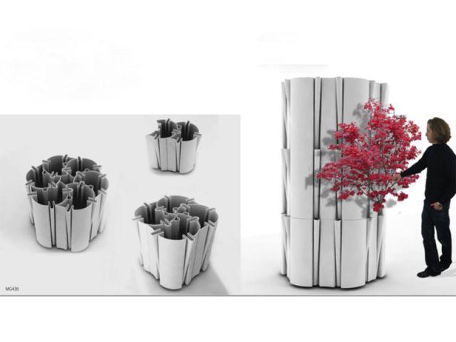 Matière Grise pot fleurs