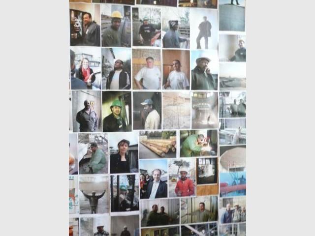Photos d'ouvriers - Cité Immigration