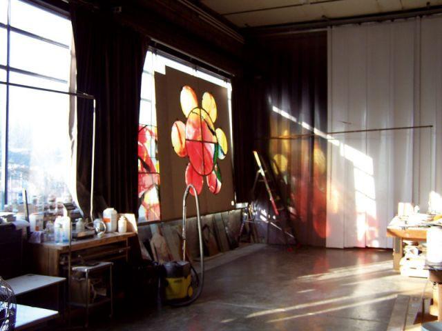 l 39 art contemporain s 39 invite dans le sacr. Black Bedroom Furniture Sets. Home Design Ideas